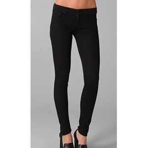 MOTHER the looker skinny jeans dear villain 24